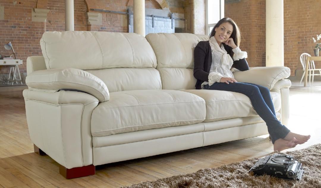 Kalina Leather Sofa Range Sofology